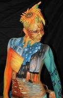 Bodypainting Maskerade 2009 by iacubino
