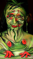 Facepainting Maskerade 2010 by iacubino