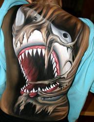 Bodypainting Hai by iacubino