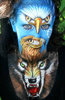 Facepainting Transformation