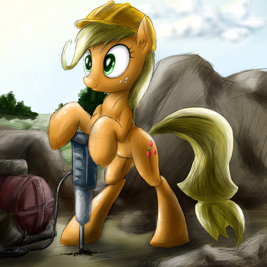 Applejack by rule1of1coldfire