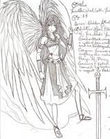 Magical Warrior: Anael by archangel1012345