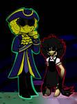 Dark Deception: Agatha and a golden watcher