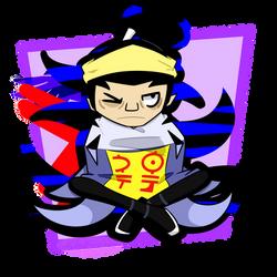 Hero 108: Mr. No Hands by Lolfurbyscribble