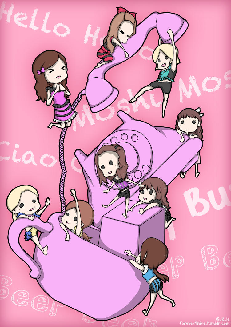 SNSD - Beep Beep~ by Kle95 on DeviantArt