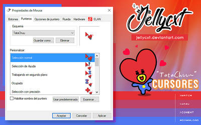 #001 | Cursores | Tata | BTS by jellycxt