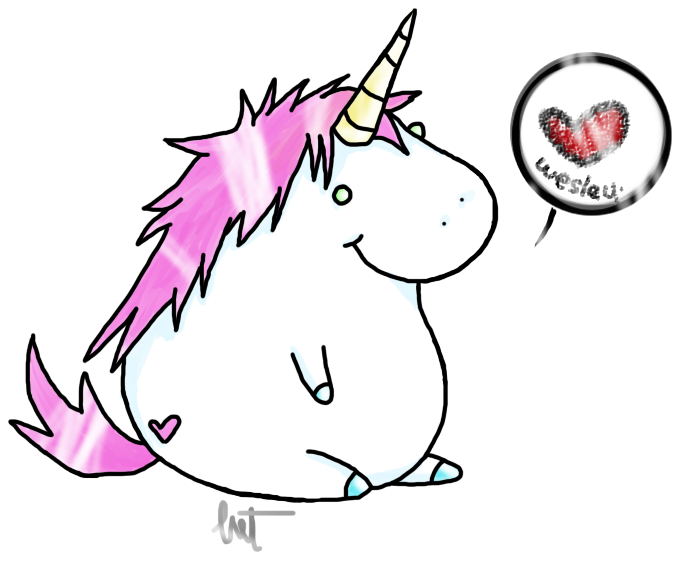 How To Draw Fat Unicorn