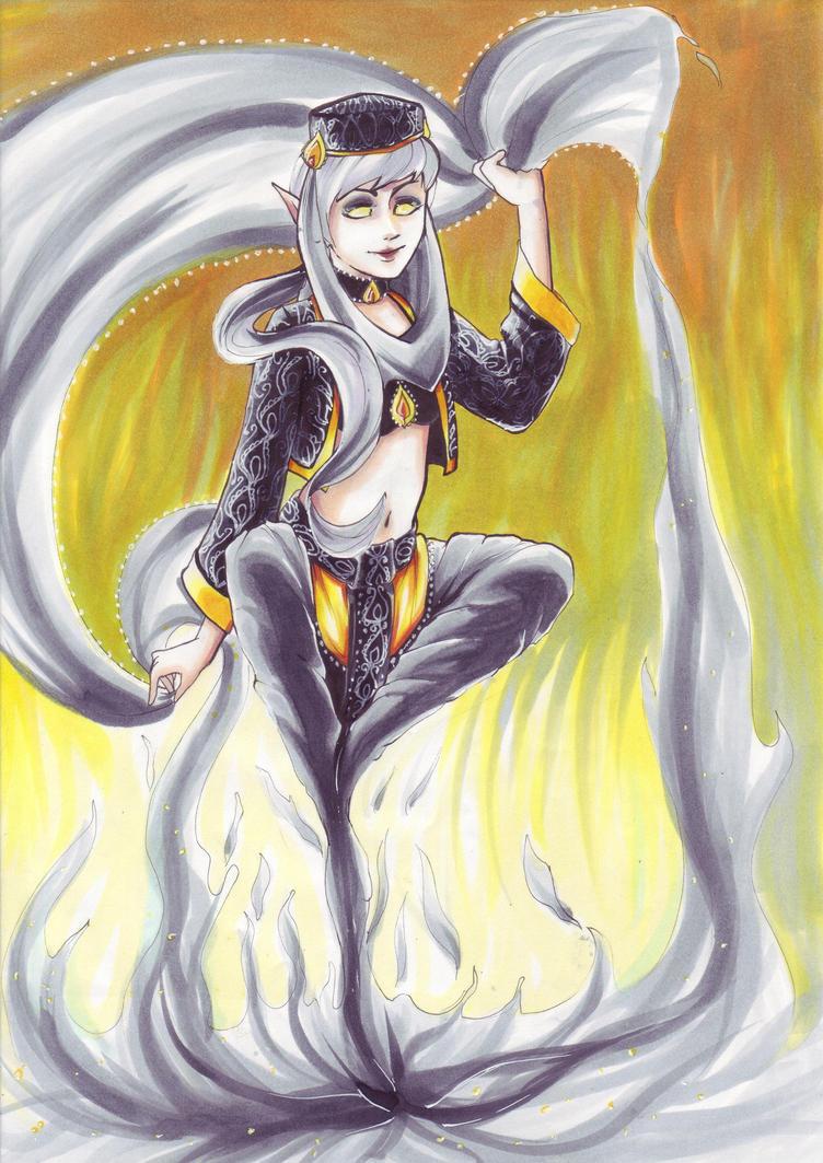 Smokeless Fire by Agnethamoon