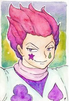 Hisoka Watercolor