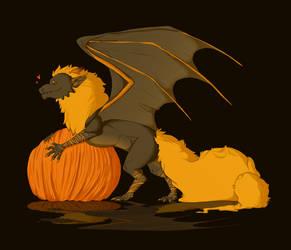 Halloween, Dragons and Pumpkins