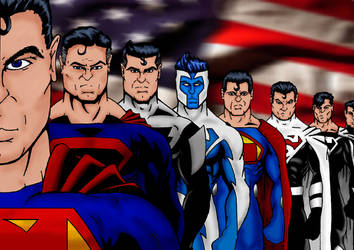 The Supermen by kryptonian-fan
