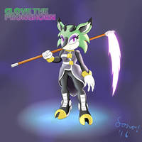 Clove the Pronghorn by Sonomatic