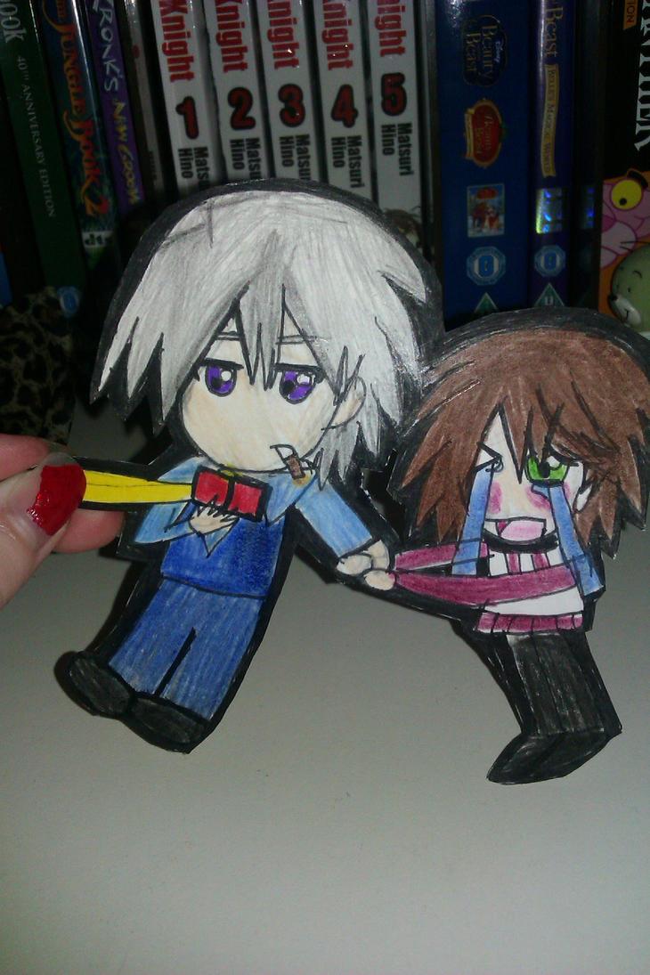 Usagi And Misaki Paper Child By Littlekittylionheart On