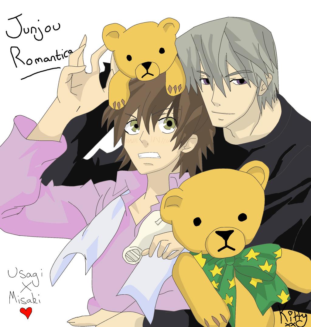 Junjou Romantica: Usagi and Misaki by LittleKittyLionheart ...