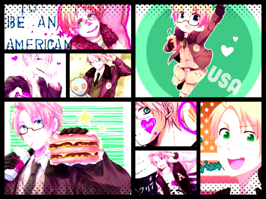 America Collage 2 by Zinxeon