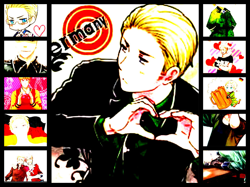 Germany Collage by Zinxeon
