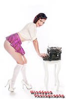 Kahla Shae Sexy Secretary by SkipM