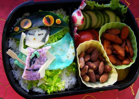 Okami's Issun Bento by LadySiha
