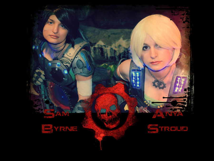 Gears of War Cosplay Wallpaper - 2 by LadySiha