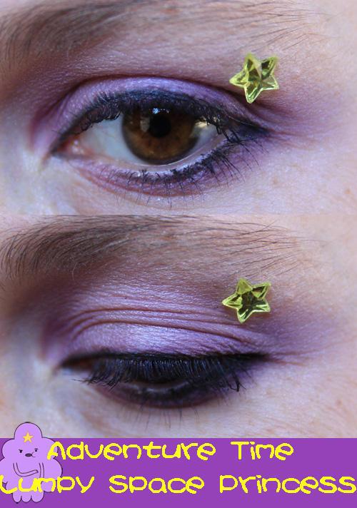Lumpy Space Princess Eye Make-Up