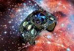 Worm Hole Portal Alien Ship Control Cuff