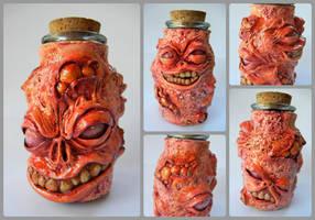 Putrid Stash Jar by dogzillalives