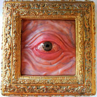 Framed eye repainted by dogzillalives