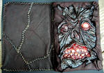 Necronomicon nook cover front and back