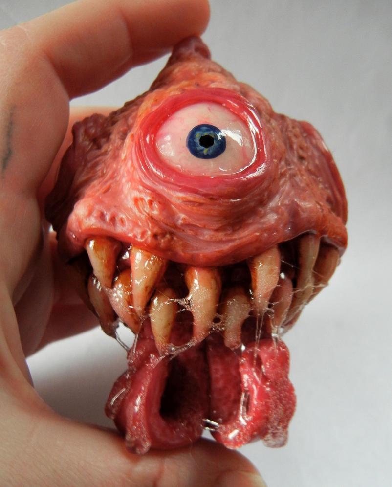 Custom ornament Toothy McDroolsalot by dogzillalives