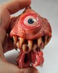 Custom ornament Toothy McDroolsalot