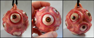 Ball of Eyes ornament