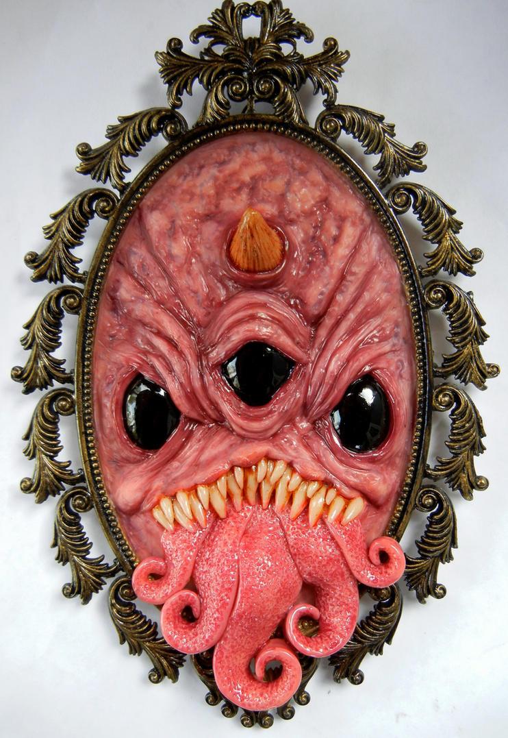 Framed creature by dogzillalives