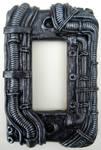 Custom industrial rocker switch plate