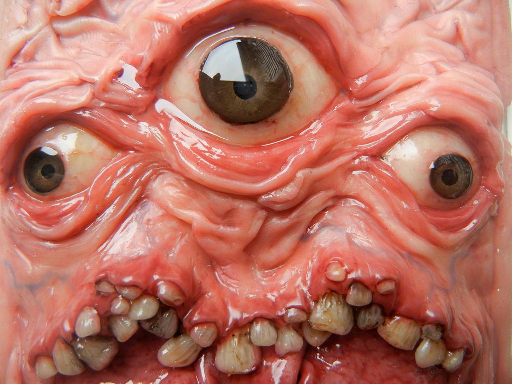 Framed monster finished preview by dogzillalives