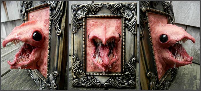 Weird framed beast by dogzillalives