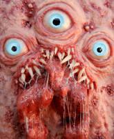 framed triclops beast by dogzillalives