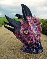 Sea creature led lamp by dogzillalives