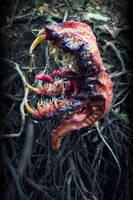 Monster house plant companion horror home decor by dogzillalives