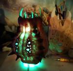 Horror led lamp all lit