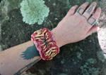Tooth beast cuff bracelet 10/2016
