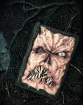 custom Necronomicon book of the dead prop