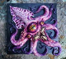 monster squid sculpture