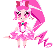 Cure Blossom Sprite by Artic-Blue
