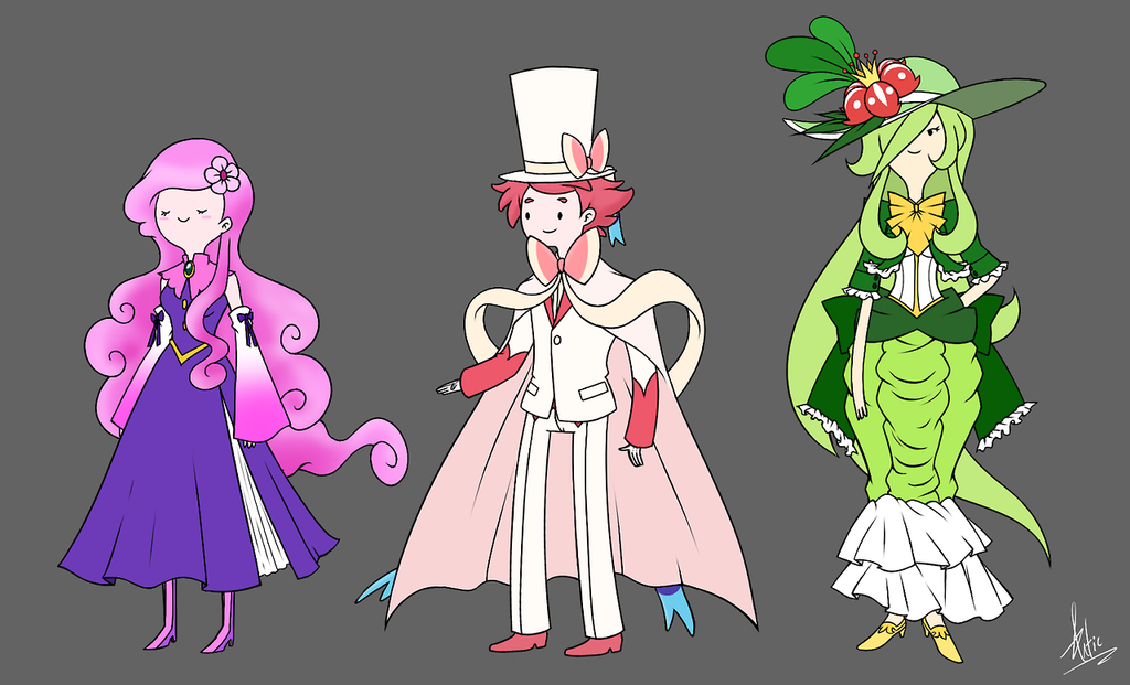 Design An Adventure Time Character : Adventure time gijinkas by artic blue on deviantart