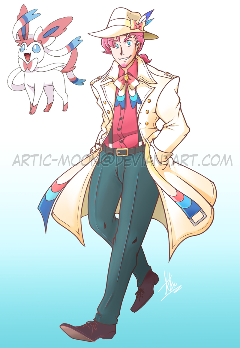 Commission: Mobster Sylveon Gijinka by Artic-Blue on ...