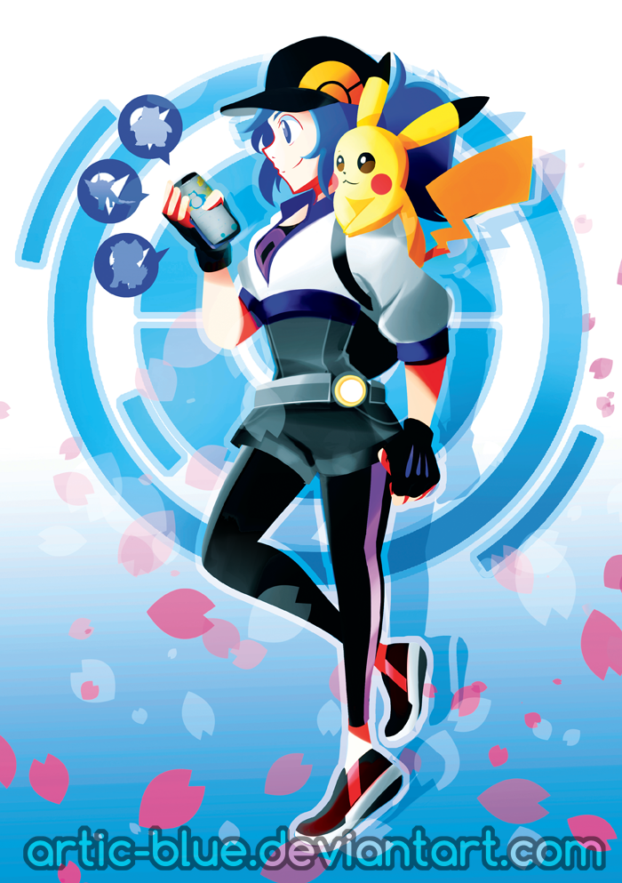 Pokemon GO!! by Artic-Blue