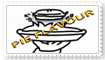 Pie Flavour stamp by Xinahs