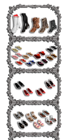 Tekken Female Shoes Collection by PMDMaster