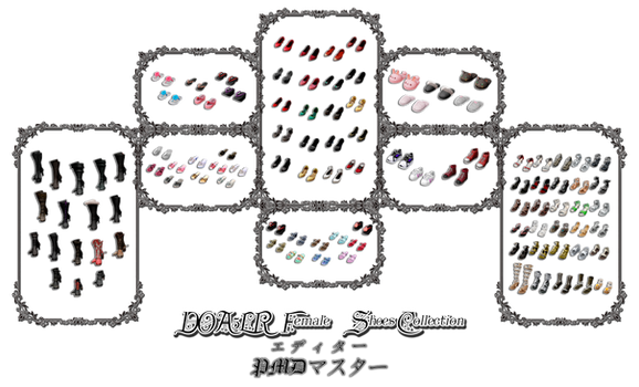 DOA5LR Female Shoes Collection