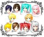 FT face collection V2 by PMDMaster